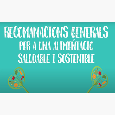Vídeo recomanacions Plataforma Escoles que Alimenten